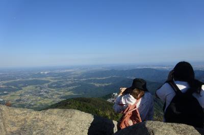 筑波山登山 美幸ガ原コース(登り)から白雲橋コース(降り) 絶景、奇岩