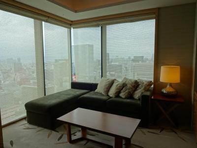 閑話休題 大阪のインターコンチネンタルに泊ってきました。