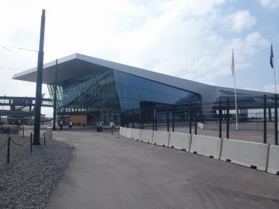 ヘルシンキからタリンへ フェリーで出国 西ターミナルってこんなとこ
