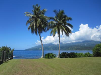 タヒチ島を路線バスで一周してみました。
