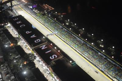 シンガポールGP2018 F1レース観戦・夜景鑑賞しながら、シンガポールフライヤー乗車!
