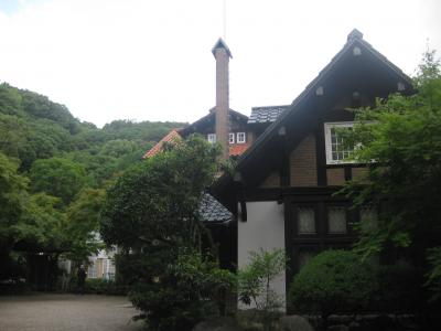 初夏の散策・大山崎山荘美術館へ