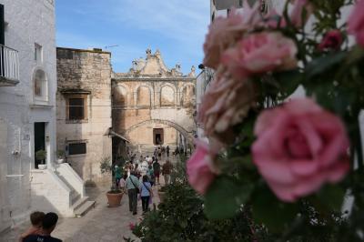 美しき南イタリア旅行♪ Vol.255(第8日)☆Ostuni:美しい「ヴェスコヴィーレ宮殿」周囲の景観♪