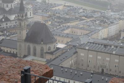思いがけず音楽旅行となったチェコ、オーストリア、ドイツの旅⑧ザルツブルク2日目は土砂降りの雨!!悔し涙も混ざったホーエンザルツブルク城とレジデンツ見学…。