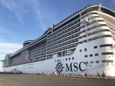 お子様無料!MSCクルーズ船で上海へ