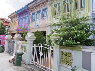 【Sparkle Singapore!】初秋のシンガポール&ハノイ[4] ~カトン地区でプラナカン文化にふれる~