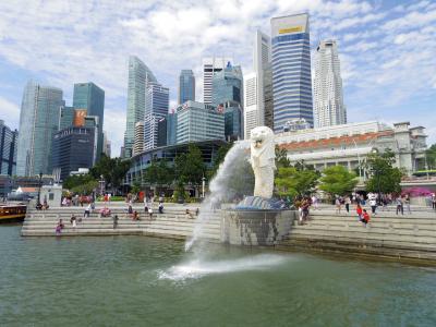 【Sparkle Singapore!】初秋のシンガポール&ハノイ[6] ~マーライオン見てハノイへGo~