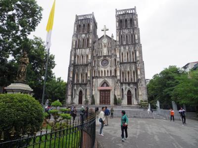 【Amazing Vietnam!】初秋のシンガポール&ハノイ[8] ~聖ヨセフ大聖堂に夜のハノイ~