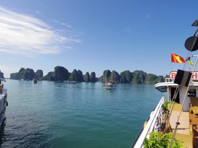 【Amazing Vietnam!】初秋のシンガポール&ハノイ[9] ~世界遺産・悠久のハロン湾~