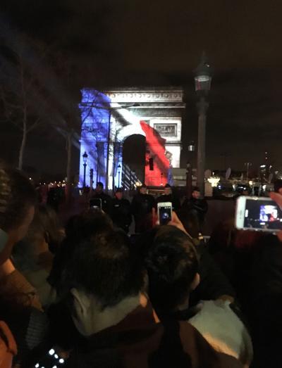 パリとストラスブールとモンサンミッシェル #3 パリ 2015/12/31~2016/1/1