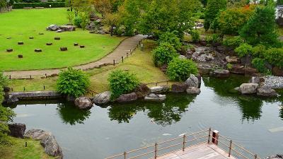 池田市 池田城跡公園の見学。