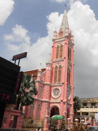 ホーチミン市内の2つの大きな教会巡り