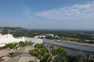 美しき南イタリア旅行♪ Vol.265(第9日)☆Ostuni:「La Sommita Relais」美しい朝のパノラマ♪