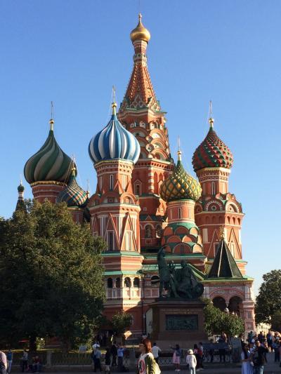 モスクワ女子一人旅