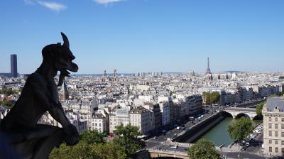 パリ・ランス・ベルサイユ編 夏の最盛期に行くヨーロッパ(1)フランス