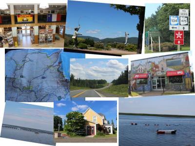 カナダ東部5州、ドライブ旅行2018 Day4-2(初ニューブランズウィック州ドライブ、CampbelltonからBouctoucheまで)