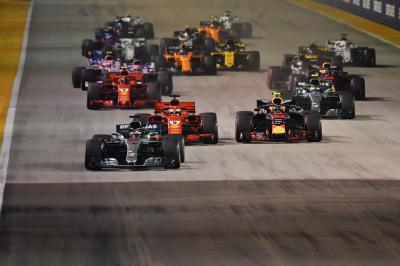 F1 シンガポールGP 2018