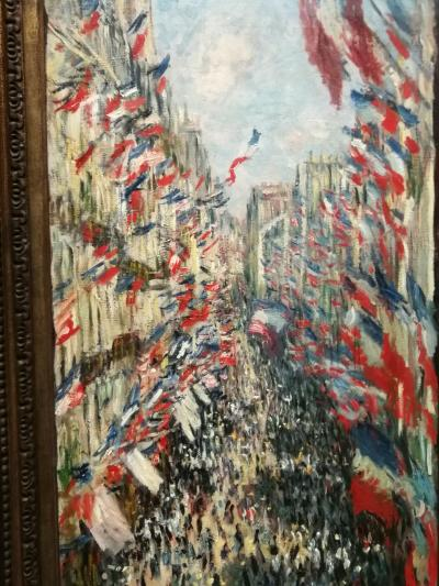 パリ観光 一人旅の街歩き 2日目①(オルセー美術館)
