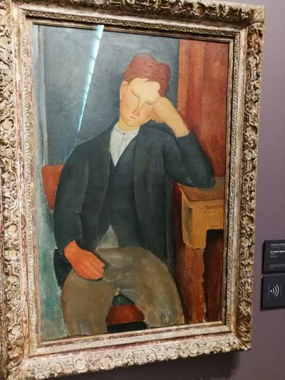 パリ観光 一人旅の街歩き 2日目②(オランジュリー美術館)
