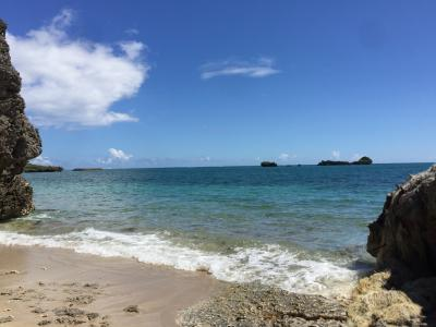 癒された沖縄の海