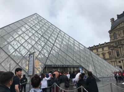 初めてのフランス ④滞在2日目 ルーブル美術館・オランジュリー美術館