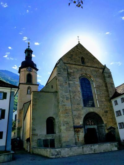 〈はじめてのスイス旅行〉2日目(その1):チューリッヒからクールへ
