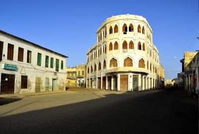 未知なる国エリトリア(砂漠と奇麗な街と圧政の暗い影)3 マッサワ旧市街