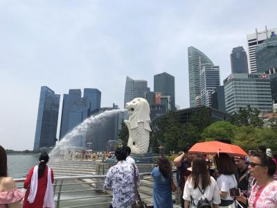 親子でシンガポール (その1)