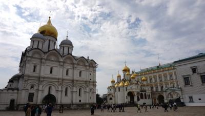 【ロシア旅行記⑥】モスクワ散策~クレムリンと中央軍事博物館へ