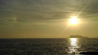 2018年9月 彼岸の夕陽鑑賞