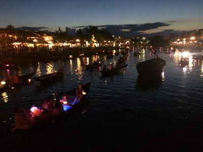 〈5日目ホイアン旧市街、アンホイ島の夜〉ダナン・ホイアン・ホーチミンの旅