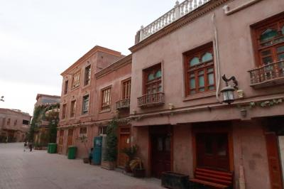 シルクロード新疆ウイグルへの旅・・・カシュガル旧市街地