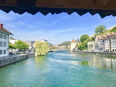 2018年夏~スイス登山鉄道とレンタカーの旅9日間~1~2日目