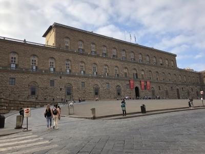 フィレンツェで比較的落ち着けるピッティ宮殿:パラティーナ美術館はオススメ[2018年9月10月世界一周特典航空券の旅16]