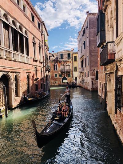 かくれんぼとかの遊びをしたくなる街・ヴェネツィア:道が細くて曲がりくねっていて地図を読むのが楽しい[2018年9月10月世界一周特典航空券の旅17]