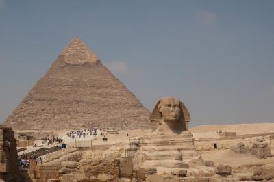 ①初アフリカ大陸エジプト、ピラミッド遺跡堪能の旅