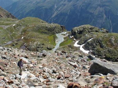 2015年 チロル3つの谷とエーアヴァルト【13】ペッツナーゼーを経てベンタータールの西側を(エッツタール④)