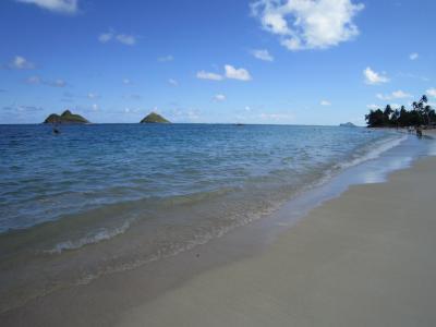 2013.12 ハワイ ② オアフ島 ドライブ ノースショア カイルア & ラニカイビーチ