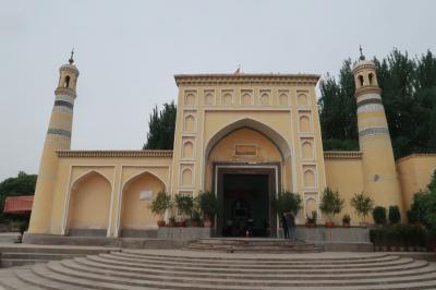 シルクロード新疆ウイグルへの旅・・・カシュガル、香妃墓とエイティガール寺院