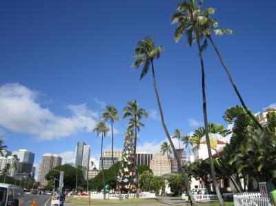 2013.12 ハワイ ③ ホノルル ハレ ~ タンタラス ~ アウラニ ~  ホノルル シティライツ