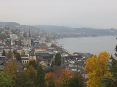 秋のスイス・イタリアの旅1 ルツェルン