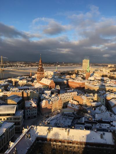 冬のフィンランド&バルト三国ひとり旅④リガ1日散策