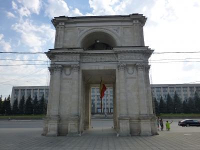 2018 東欧3か国の旅 1 モルドバの首都、キシナウを散策
