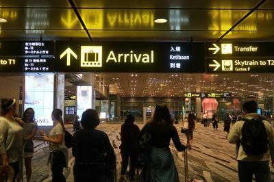 娘1歳の誕生日シンガポール1★シンガポール航空利用 香港からシンガポールへ 夜は肉骨茶 ~ホリデイ イン エクスプレス カトン・Jollibean・新興瓦煲肉骨茶~