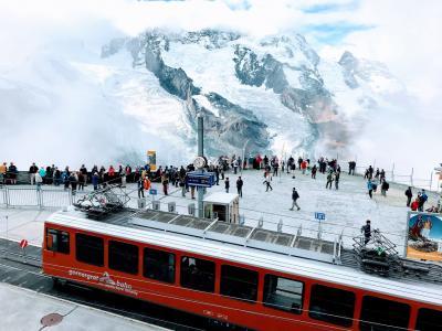 〈はじめてのスイス旅行〉3日目:ゴルナーグラート展望台からツェルマット散策