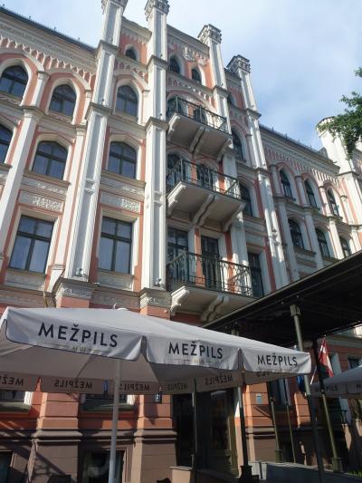 ラトビアのリガのホテル Monika Centrum(モニカ セントラム)ってこんなとこ