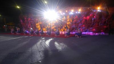 80日間アジア徘徊 コラートでイベントまみれ 3 ロウソク祭り Hea Tien Pansaa 夜の部