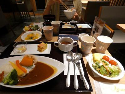 07.イニエスタを見る(筈だった)東京2泊 ドーミーイン秋葉原 レストランHATAGOの朝食