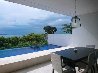 娘1歳の誕生日シンガポール3★ちょっとだけインドネシア バタム島のプール付きヴィラでバカンス 曇り空のバタム ~Montigo Resort~
