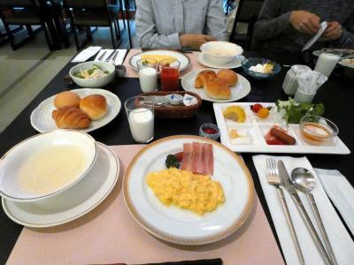14.甥っ子と温泉に入る2泊 畑毛温泉大仙家 レストラン遊山(ゆうざん)の朝食